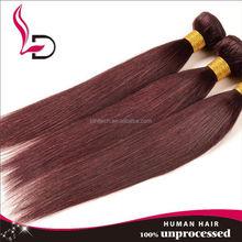 Sassy silky straight hair Brazilian hair styles pictures color 99j Brazilian hair silk straight hair virgin Brazilian hair 7a