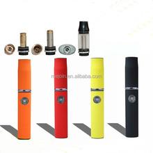 Hot selling wax/oil/dry herb vaporizer pen, flat Hebe vaporizer
