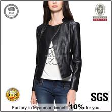 garment orders women stunning fringe leather jacket wholesale