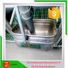 Circle 304 stainless steel trough for sows