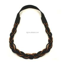Costume fashion jewelry wholesale price vintage stretch tattoo henna choker hippy necklace