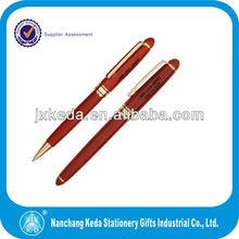 2015 Ballpoint CEO Pen New Nature Rose Wooden Pen Set(Wooden letter opener+wooden ball pen+wooden ball pen)