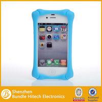 for iphone 4 bone case,new design silicone bone bumper phone case for iphone 4