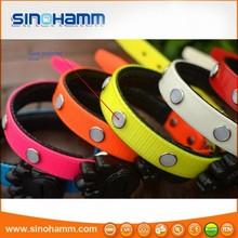 Sinohamm pet trainer collars led dog collar led pork collar glow flashing 4 modes control