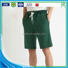 Wholesale Cotton Polyester Blend Plain Sweat Shorts