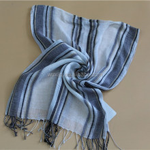 Black and White Striped Scarf Accessories Online Trendy Mens Clothing