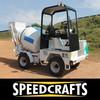 Mobile Self-Loader Concrete Mixer Machinery/Equipment