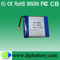 customized rechargeable 7.4v 1800mah li-ion polymer battery for netbook, laptop