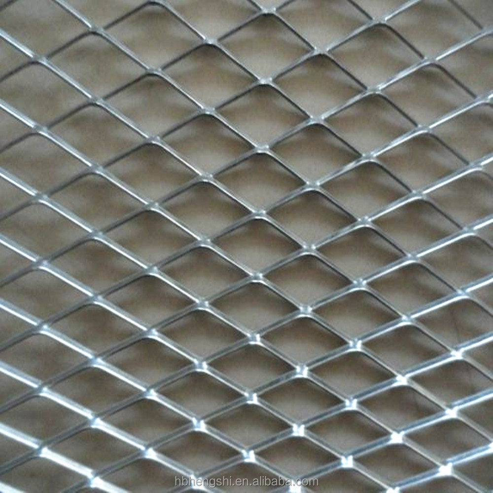 Expanded Metal Panels : Stainless steel expanded metal mesh panel
