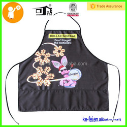 custom funny transfer print garden apron