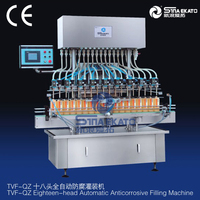 Manufacturer Automatic Cosmetic, Paste, Shampoo, Lotion and Essential Oil Filling Machine