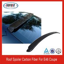CARBON FIBER E46 COUPE 2DR ROOF WING REAR SPOILER for BMW E46 M3