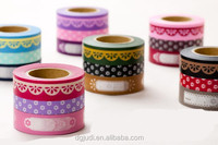 Floral Printed Dots Plastic Ribbon Roll, Gift Wrapping Tape colorful pp ribbon