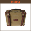 Hunting gun accessories Classical Canvas and leather cartridge case