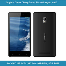 Latest china brand phone 5.0 inch QHD screen Android 4.4.2 MTK6582 Quad core 1.3Ghz 1GB RAM 8GB ROM 13.0MP camera Leagoo Lead 2