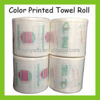 Nonwoven Color Printed Towel Hairdressing Disposable