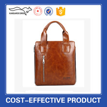fasion custom leather briefcase,real leather bag for business men,men genuine leather briefcase