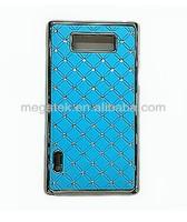Diamond Bling bling crystal hard phone cover for LG L7 P705 case