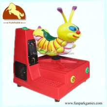 Hot sale Kids game Machine popular Fruitworm arcade coin operated Kiddie rides amusement swing machine