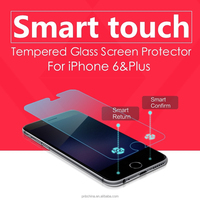 High Quality !! 0.3mm 9H Anti Shock 2.5D Curved Edge Mobile Phone Smart Touch Tempered glass screen protector