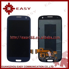 Cheap price wholesale mobile phone lcd for samsung i9300 galaxy s3 lcd with digitizer