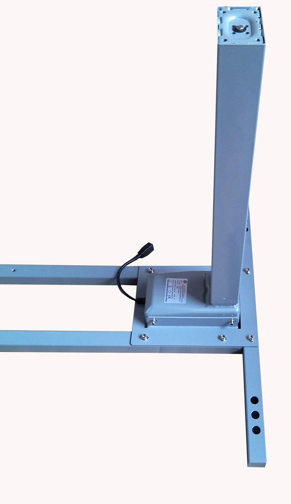 Ctht3 f4200p electric motor height adjustable desk frame for Motorized standing desk legs