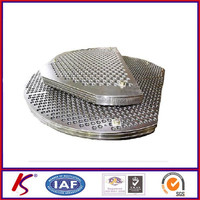 Stainless Steel Baffle Plate for Heat Exchanger