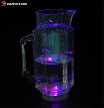 new products wholesale arts and crafts clear water pitcher