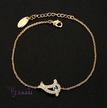 Hot Sale Friendship 18k gold Plated Smart Bracelet