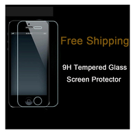 Free Shipping Factory price 9H Anti scratch anti fingerprint user friendly 0.33mm tempered glass screen