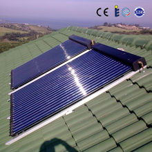high quality high efficiency heat pipe aluminium alloy solar collectors prices with solarkey approved