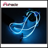 Cheap colorful electro luminescent earphones with mic