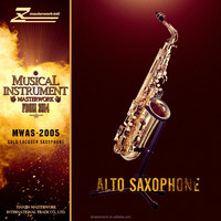 wind and brass instrument, good quality alto saxophone