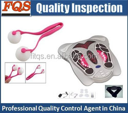 Quality Inspection service for foot massager/personal massager