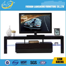 Foshan Liansheng 2015 high quality high gloss MDF wooden TV stand living room furniture TV stand