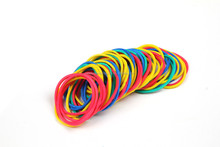 Neon Color Elastic Band , Synthetic Rubber Bands, Cheaper Synthetic Rubber Band
