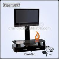 Motor aluminium tv stand for exhibition