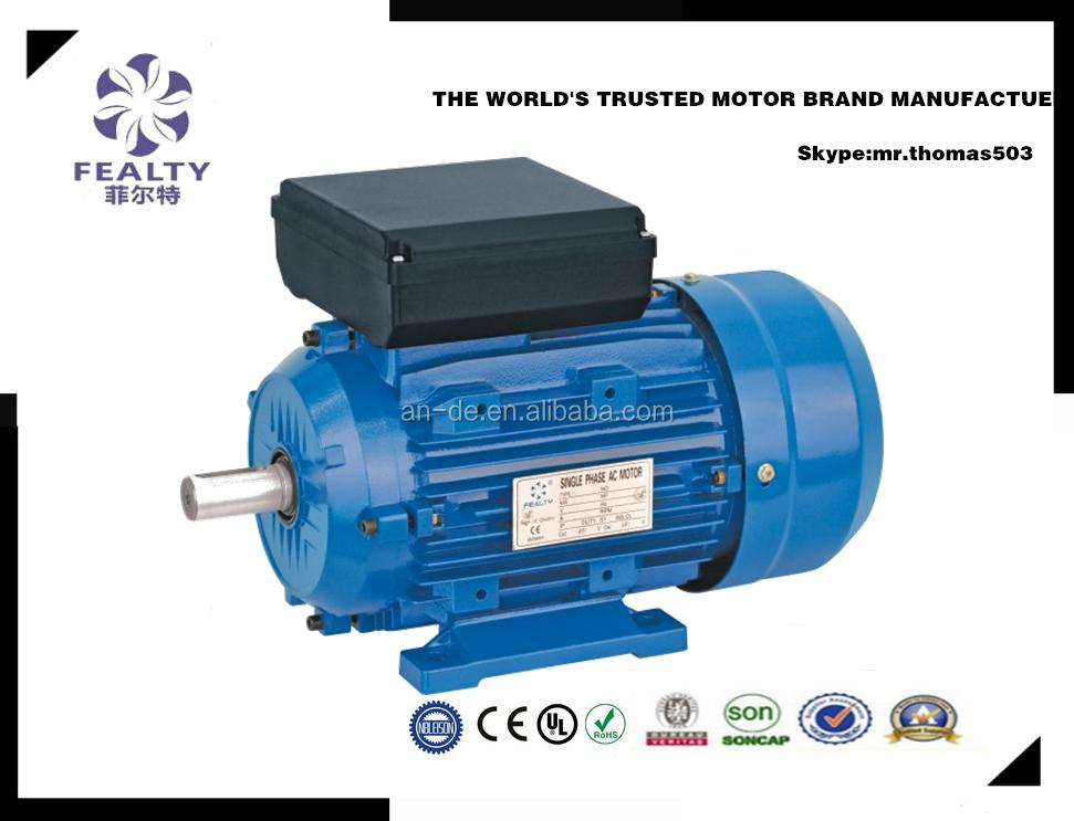 Single Phase 220v 50hz Ac Electric Motor Buy Motor