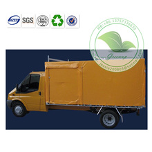 High Quality UV Protection Yellow Tarpaulin Cover for Van