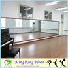 Softness used dance floor pvc flooring, pvc commercial floor surface