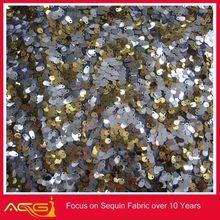 Sequin Micro Teardrop Dangle Fabrics 100% polyester wedding decorative deck posts