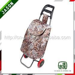 two wheel shopping trolley bag folding portable backpack beach chair