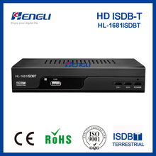 New design! ISDBT receiver set top box ISDB TV decodificador