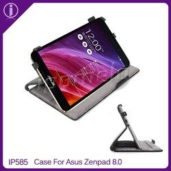 2015 newest leather tablet case for Asus ZenPad 8.0