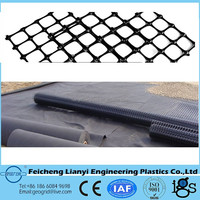 PP biaxial civil engineering equipment geogrid road /Civil Engineering Synthetic Material warp knitted geogrid
