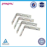 "1-1/2""; zinc-plated steel Right Angle Bracket Shelf Support"