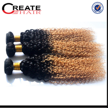 Alibaba Trade Assurance Paypal Accepted Soft No Frizzy Grade 5A Body Wave Temple Indian Remy 3 Tone Color Ombre Hair Weaves