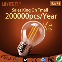 SMD LED lighting bulb, LED promotion price A60 glass bulb