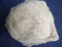 Chinese sheep wool med shade,100% dehaired chinese sheep wool lt.grey