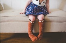 Relent Cute Cotton Fox Cozy Soft Baby Stockings